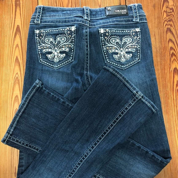 69d77e8d41f Grace in LA Denim - Girls Grace in LA size 14 bootcut jeans